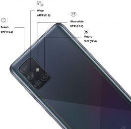 Samsung Galaxy A71 Dual SIM - 128GB, 6GB RAM, 4G LTE
