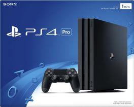 Sony PlayStation 4 Pro 1TB Console - Jet Black
